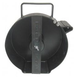 Brady - TTD01 - Handheld Barricade Tape Dispenser, Black, Holds 3 x 1000 ft. Roll, 1 EA