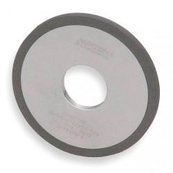 Saint Gobain - 66261004021 - 6 Metal Finishing Convolute Wheel, 1/2 W, 1 Arbor Hole, Fine Silicon Carbide