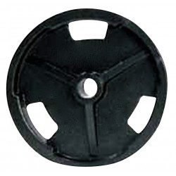 ProMaxima - EZR25 - Weight Plate, Black; Weight: 25 lbs.