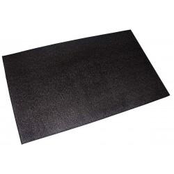 ProMaxima - EQUIPMENT MAT - 6 ft. x 4 ft. x 1/2 Rubber Equipment Mat, Black
