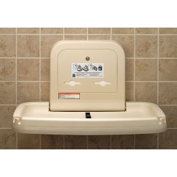 Koala Kare - KB200-00 - Baby Changing Station, Horizontal, Flush Mount, Polypropylene