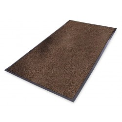Notrax - 132S0035BR - Brown Decalon® Yarn, Entrance Mat, 3 ft. Width, 5 ft. Length