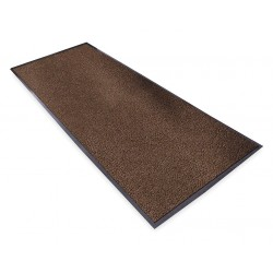 Notrax - 132S0046BR - Brown Decalon® Yarn, Carpeted Entrance Mat, 4 ft. Width, 6 ft. Length
