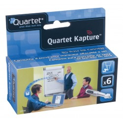 Quartet (Acco) - 23704 - Quartet Kapture Refill for Digital Flipchart Pen (Pack of 6)