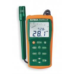 Extech Instruments - EA15-NIST - 2-Input Type E, Type J, Type K, Type N, Type R, Type S, Type T Mini-Type Thermocouple Thermometer