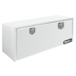 Buyers - 1702210 - Steel Underbody Truck Box, White, Double, 9.0 cu. ft.