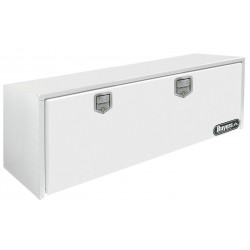 Buyers - 1702215 - Steel Underbody Truck Box, White, Double, 11.2 cu. ft.