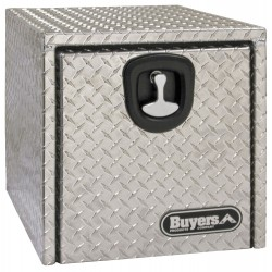 Buyers - 1705160 - Aluminum Underbody Truck Box, Silver, Single, 2.9 cu. ft.