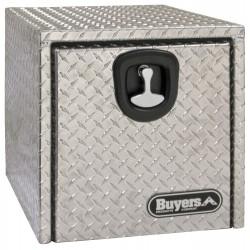Buyers - 1705130 - Aluminum Underbody Truck Box, Silver, Single, 8.0 cu. ft.