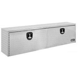 Buyers - 1705140 - Aluminum Underbody Truck Box, Silver, Double, 16.0 cu. ft.