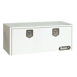 Buyers - 1702410 - Steel Underbody Truck Box, White, Double, 9.0 cu. ft.