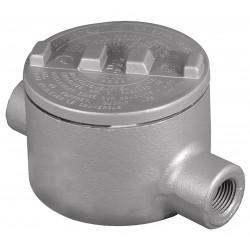 Appleton Electric - GRC200-A - C-Style 2 Conduit Outlet Body, Threaded Copper Free Aluminum, 76.0 cu. in.