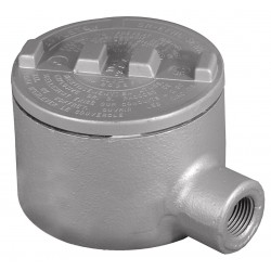 Appleton Electric - GRE75-A - E-Style 3/4 Conduit Outlet Body, Threaded Copper Free Aluminum, 18.0 cu. in.