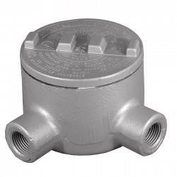 Appleton Electric - GRL125 - L-Style 1-1/4 Conduit Outlet Body, Threaded Iron, 31.0 cu. in.
