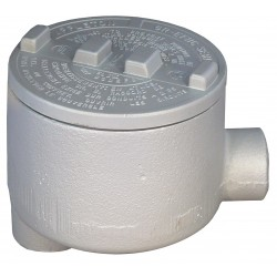 Appleton Electric - GRLB150-A - LB-Style 1-1/2 Conduit Outlet Body, Threaded Copper Free Aluminum, 72.0 cu. in.