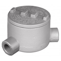 Appleton Electric - GRN125 - N-Style 1-1/4 Conduit Outlet Body, Threaded Iron, 31.0 cu. in.