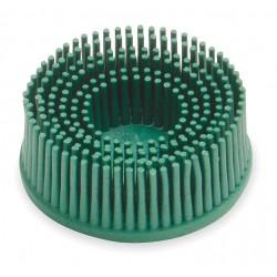 Scotch-Brite - 18730 - 2 Tapered Bristle Disc, 50 Grit, Ceramic, Roll-On/Off (TR), 5/8 Trim Length