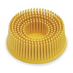 Scotch-Brite - 18732 - 2 Tapered Bristle Disc, 80 Grit, Ceramic, Roll-On/Off (TR), 5/8 Trim Length