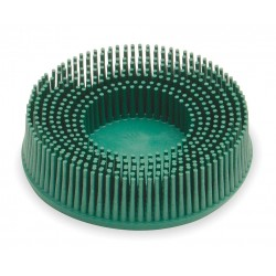 Scotch-Brite - 18734 - 3 Tapered Bristle Disc, 50 Grit, Ceramic, Roll-On/Off (TR), 5/8 Trim Length