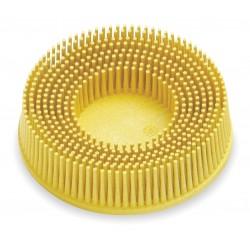 Scotch-Brite - 18736 - 3 Tapered Bristle Disc, 80 Grit, Ceramic, Roll-On/Off (TR), 5/8 Trim Length