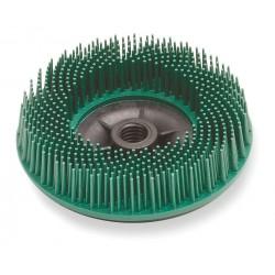 Scotch-Brite - 24241 - 4-1/2 Bristle Disc, 50 Grit, Ceramic, 5/8-11 INT, 3/4 Trim Length