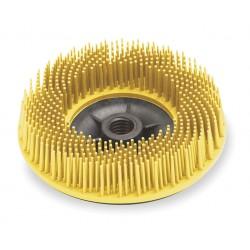 Scotch-Brite - 24242 - 4-1/2 Bristle Disc, 80 Grit, Ceramic, 5/8-11 INT, 3/4 Trim Length