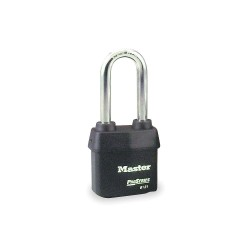 "Master Lock - 6121KALJ-10G013 - 5 Pin Weather Tough Padlock W/2-1/2"" Shackle"