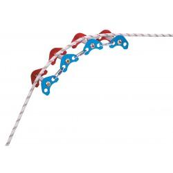 Petzl - P68 - Articulated Edge/Rope Protector, Aluminum