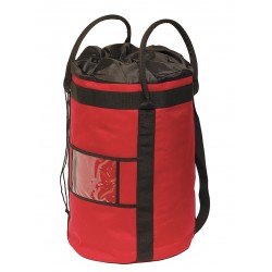 Petzl - R41XL R - XL Rope Bucket, Red, Holds 500' of 1/2 Rope