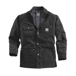 Carhartt - C001 BLK REG XXL - Coat, Unhooded, Blanket Lined, Black, XXL