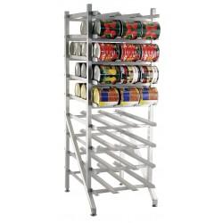 New Age - 1250 - 25 x 35 x 71 Aluminum Can Rack