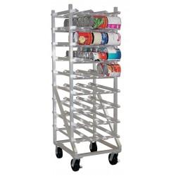 New Age - 1250CK - 25 x 35 x 78 Aluminum Can Rack