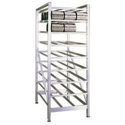 New Age - 6259 - 25 x 35-1/4 x 71 Aluminum Can Rack