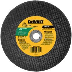 """Dewalt - DW8057 - 12""""x7/64""""x1"""" Red Ceramicchop Saw Wheel Metal"""