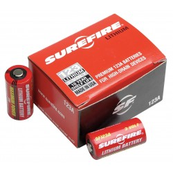 SureFire - SF12BB - SureFire 123A Lithium Flashlight Battery - 3 V DC - 12 / Box