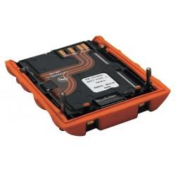 Industrial Scientific - VTSB-111 - 3.7VDC Li-Ion Replacement Battery Pack, Orange, 1 EA