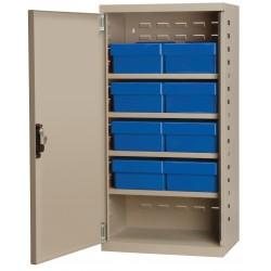 Akro-Mils / Myers Industries - ACS4P82BLU - Cabinet Stl Dr B Akro Drawers, Ea