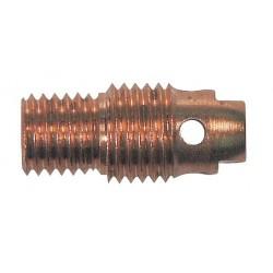 WeldCraft - 13N27 - Weldcraft 13N27 Non-Gas Lens Collet Body; 1/16 Inch, Copper, ...