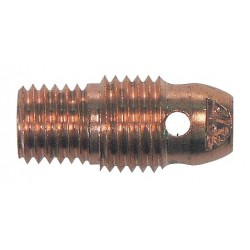 "WeldCraft - 13N28 - Weldcraft Copper 3/32"" Gas Lens Collet Body For WP-9, WP-20, WP-20P And WP-25 Torches"
