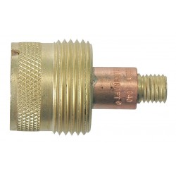 "WeldCraft - 45V0204S - Weldcraft Brass And Copper .020"" - .040"" Large Diameter Gas Lens Collet Body For 160 Amp AC/225 Amp DC Water Cooled WP-20P Torch"