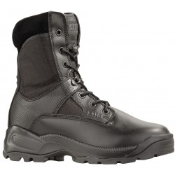 5.11 Tactical - 12001 -019-6-R - 8H Men's Tactical Boots, Plain Toe Type, Leather and Nylon Upper Material, Black, Size 6
