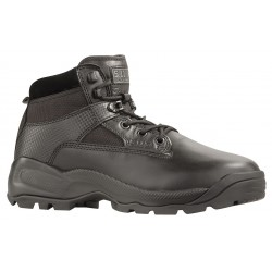 5.11 Tactical - 12002-019-11-W - 6H Men's Tactical Boots, Plain Toe Type, Leather and Nylon Upper Material, Black, Size 11