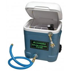 Allegro - 9820-HP - Portable Airline Cooling System, For Use With Standard Pressure Filtration Panel or Breathing Air Co