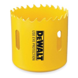 Dewalt - D180080 - 5-Dia. Hole Saw for Wood, 1-13/16 Max. Cutting Depth, 4/5 Teeth per Inch