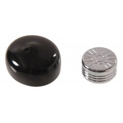 Other - 8940337 - 3/8 Button Spoke Chrome Bolt Cap