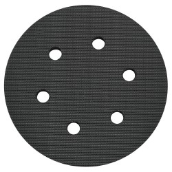Porter Cable - 18001 - Backing Pad, 6-Hole, Hook/Loop, 6 In Dia
