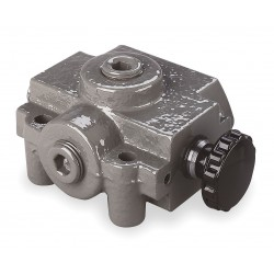 Prince - SS-2A1D - 5-1/8 x 3-1/4 x 2-1/4 3-Way, 2 Position Hydraulic Selector Valve