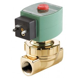 Red Hat - SU8220G406 - Steam and Hot Water Solenoid Valve, 2-Way/2-Position Valve Design, Normally Closed Valve Configurati