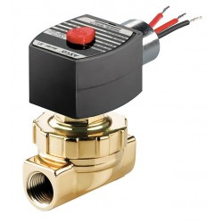 Red Hat - EF8220G406120/60 - Steam and Hot Water Solenoid Valve, 2-Way/2-Position Valve Design, Normally Closed Valve Configurati