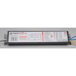 GE (General Electric) - GE-132-MV-PS-L - Electronic Ballast, 32 Max. Lamp Watts, 120/277 V, Programmed